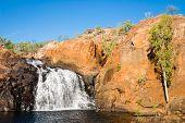 Upper Falls At Leliyn Australia