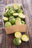 stock photo of brussels sprouts  - brussels sprouts - JPG