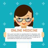 picture of hospital  - Online medicine banner - JPG