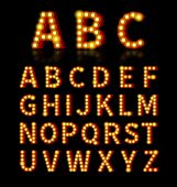 foto of lightbulb  - Lightbulb font - JPG