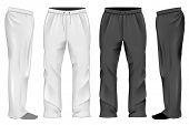 pic of black pants  - Men - JPG