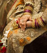 stock photo of indian wedding  - Henna party - JPG