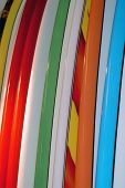 Colorful Surfboards
