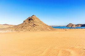 stock photo of sahara desert  - Landscape of the Eastern desert  - JPG