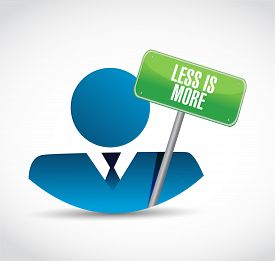 pic of avatar  - less is more avatar sign concept illustration design - JPG