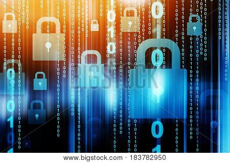 Cyber security conceptNetwork