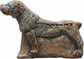 Mesopotamian Clay Dog