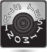 black button testimonials