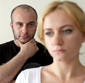 picture of sad man  - Conflict between man and woman - JPG