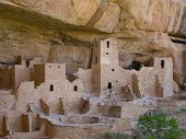 Cliff Dwellings Of Mesa Verde
