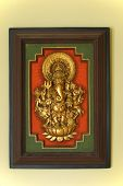 Portrait of Indian Elephant God Ganesha