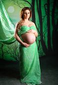 Pregnant Woman Standing