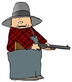 Farmer With A Shotgun