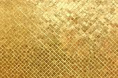 gold mosaic background