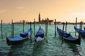 Kostel San Giorgio Maggiore v Benátkách v Itálii.