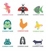 Symbole-Symbole der Tiere