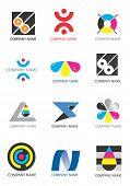 Los iconos de la empresa impresión diseño