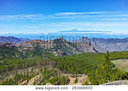 Gran Canaria Island Mountains Landscape