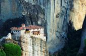 The Holy Monastery of Rousanou / St. Barbara (founded in the middle of 16th century AD) Meteora, Gre