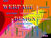 webpage design Related Text