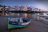 nightfall in Ferragudo