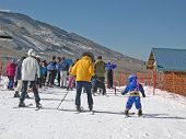 Ski Lesson Line