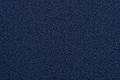 Indigo Rough Granular Fabric Texture Uniform Over The Entire Surface poster