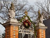 Entrada do Palácio de Governadores em Williamsburg