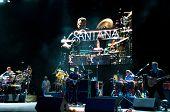 Carlos Santana's band
