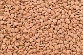 Dry Food For Cats Or Doggs - Kibble. Organic Texture Background poster