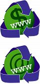 Green Websites Icons