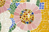 Mosaic. Modernist Art (also Called Art Deco)