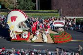 2012 Tournament of Roses Parade-Wisconson