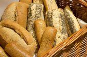 Loaves In A Bread Basket