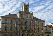 Town Hall In Weimar, Germany
