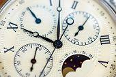 Macro Close-Up Vintage Watch
