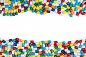 Colorful Pill Borders