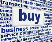 foto of barter  - Buy financial message background - JPG