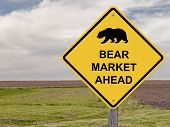 Caution Sign - Bear Market Ahead