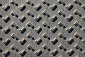 image of stelles  - Texture of metal black stell for background - JPG