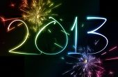 2013 New Year Fireworks