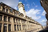 Beautiful View Of University Sorbonne In Paris