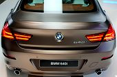 BMW 640i rear closeup