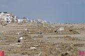 Hurricane Ike Damage at Galveston Texas
