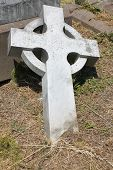 Waverly Cemetery Fallen Cross
