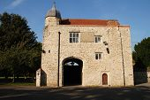 image of carmelite  - Aylesford Priory at Aylesford in Kent England a religious home dating back to the 13th century and belonging to the Carmelite order of the Catholic church - JPG