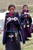 Tibetan Schoolgirls