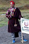 Khampa man