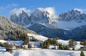 picture of italian alps  - St - JPG