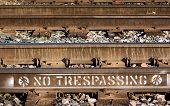 No  Trespassing On Train Tracks